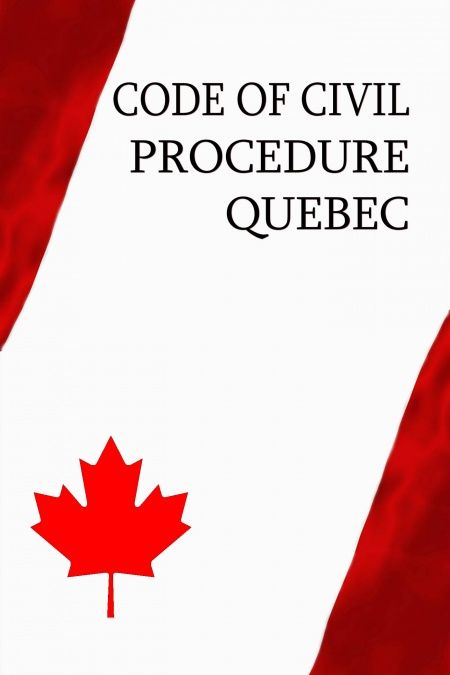 Code of Civil Procedure Québec  - обложка