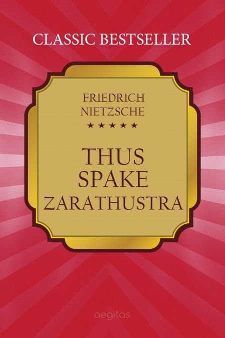 Thus Spake Zarathustra  - обложка