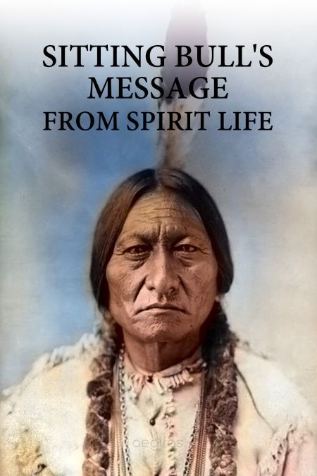 Sitting bull's message from spirit life  - обложка