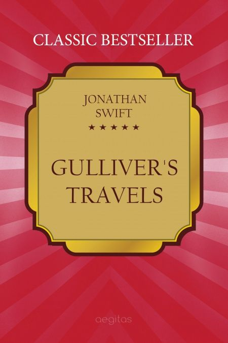 Gulliver's travels  - обложка