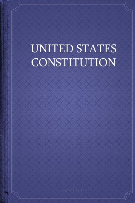 The United States Constitution  - обложка