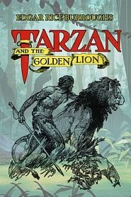 Tarzan and the Golden Lion - обложка